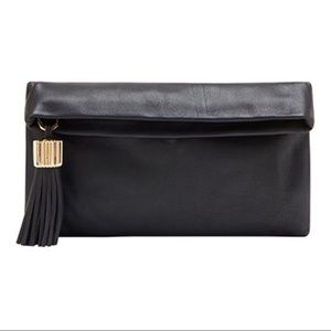 INDIA HICKS CARMEN CLUTCH w/matching agra tassel.